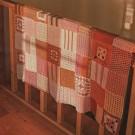 Couverture en carrés au crochet
